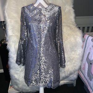 Beautiful Silver Midi Dress
